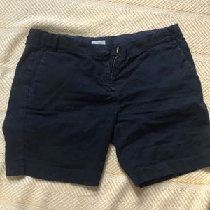 Crewcuts size 14 girls navy shorts